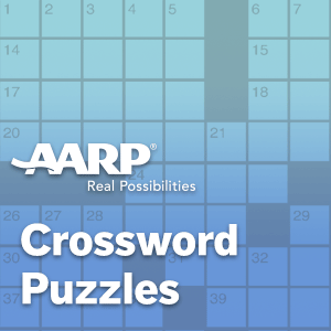 AARP Connect's online AARP Crosswords game