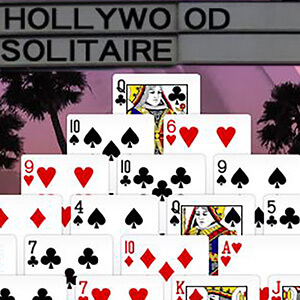 AARP Connect's online Hollywood Solitaire game