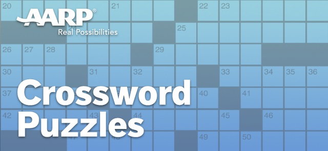 AARP Connect's free AARP Crosswords game