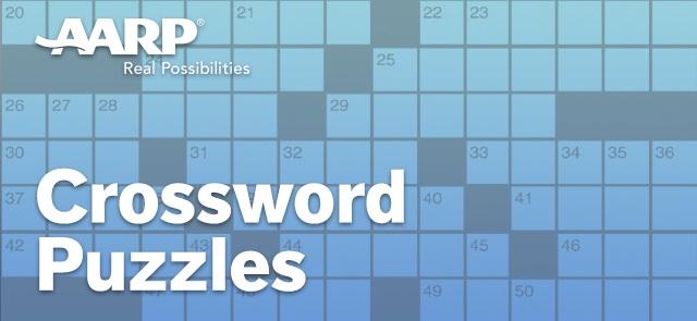 AARP Large Print Crossword Puzzles - Easy Comforts