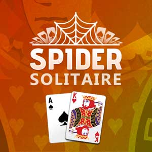 AARP Connect's online Spider Solitaire game